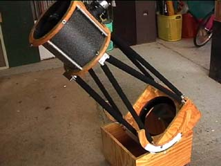 Our 10 inch Dobsonian telescope